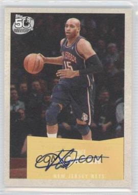 2007-08 Topps - [Base] - 1957-58 Variations Certified Autograph [Autographed] #28 - Vince Carter