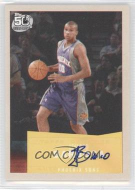 2007-08 Topps - [Base] - 1957-58 Variations Certified Autograph [Autographed] #54 - Leandro Barbosa