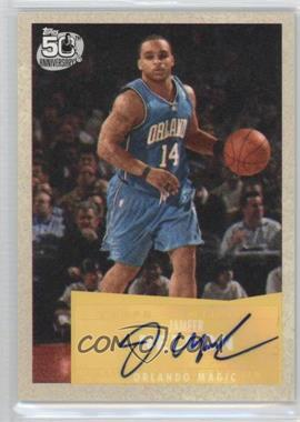 2007-08 Topps - [Base] - 1957-58 Variations Certified Autograph [Autographed] #73 - Jameer Nelson