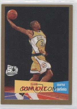 2007-08 Topps - [Base] - 1957-58 Variations Gold #112 - Kevin Durant /2007