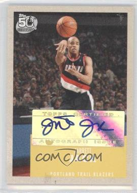 2007-08 Topps 1957-58 Variations Certified Autograph [Autographed] #86 - Jarrett Jack