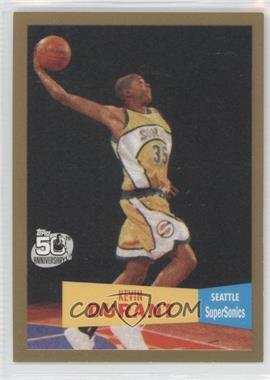 2007-08 Topps 1957-58 Variations Gold #112 - Kevin Durant /2007