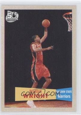 2007-08 Topps 1957-58 Variations #118 - Brandan Wright