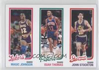 Magic Johnson, Isiah Thomas, John Stockton /99