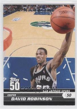 2007-08 Topps 50 #13 - David Robinson