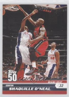 2007-08 Topps 50 #14 - Shaquille O'Neal