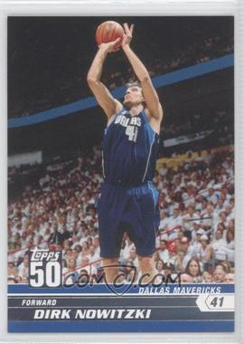 2007-08 Topps 50 #2 - Dirk Nowitzki