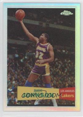 2007-08 Topps Chrome - [Base] - 1957-58 Variations Refractor #106 - Magic Johnson /999