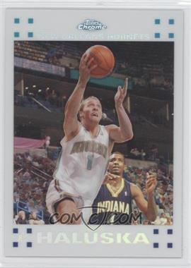 2007-08 Topps Chrome - [Base] - White Refractor #127 - Adam Haluska /99