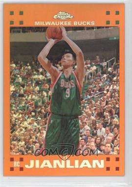 2007-08 Topps Chrome Orange Refractor #135 - Yi Jianlian /199