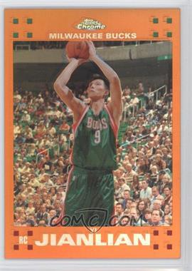 2007-08 Topps Chrome Orange Refractor #135 - Yi Jianlian /199