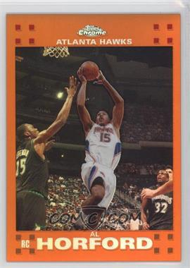 2007-08 Topps Chrome Orange Refractor #160 - Al Horford /199