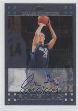 2007-08 Topps Chrome Rookie Certified Autograph [Autographed] #134 - Nick Fazekas /999