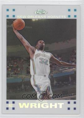 2007-08 Topps Chrome White Refractor #113 - Julian Wright /99