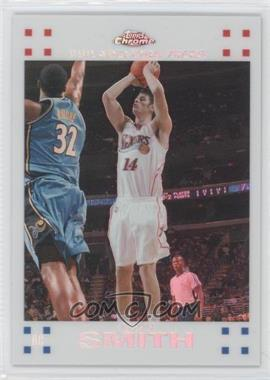2007-08 Topps Chrome White Refractor #153 - Jason Smith /99