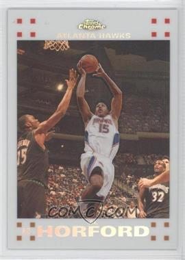 2007-08 Topps Chrome White Refractor #160 - Al Horford /99