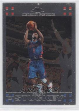 2007-08 Topps Chrome #114 - Rodney Stuckey