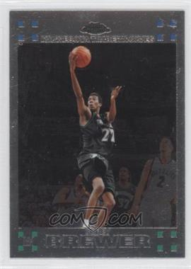 2007-08 Topps Chrome #129 - Corey Brewer