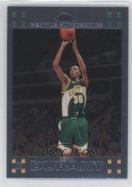 2007-08 Topps Chrome #131 - Kevin Durant