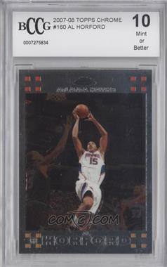 2007-08 Topps Chrome #160 - Al Horford [ENCASED]