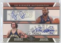 Rick Barry, Baron Davis /9