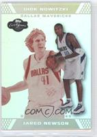 Jared Newson, Dirk Nowitzki /39