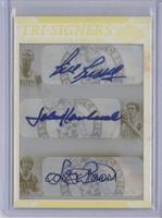 Bill Russell, Larry Bird, John Havlicek /1