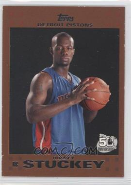 2007-08 Topps Copper #125 - Rodney Stuckey /50