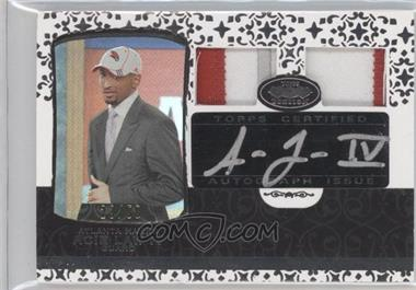2007-08 Topps Echelon - Rookie Autographs - Dual Patches [Autographed] #56 - Acie Law /50