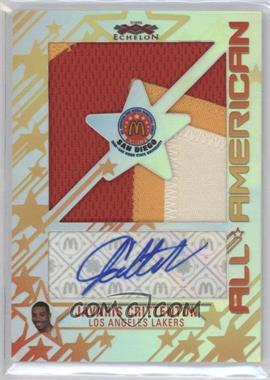 2007-08 Topps Echelon McDonald's All-American Autographs Super Sized Patches [Autographed] #MAPJC - Javaris Crittenton /25
