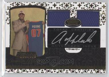 2007-08 Topps Echelon Rookie Autographs Dual Relics [Autographed] #59 - Arron Afflalo /399