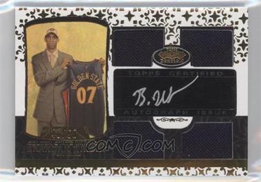 2007-08 Topps Echelon Rookie Autographs Quad Relics Gold [Autographed] #53 - Brandan Wright /50