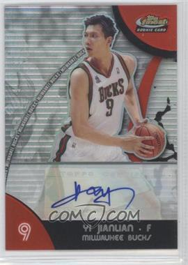 2007-08 Topps Finest Refractor Certified Autograph [Autographed] #73 - Yi Jianlian