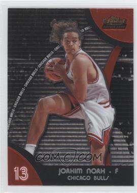 2007-08 Topps Finest #81 - Joakim Noah