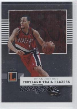 2007-08 Topps Letterman [???] #39 - Brandon Roy /599