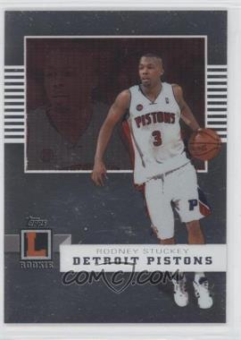 2007-08 Topps Letterman [???] #55 - Rodney Stuckey /599