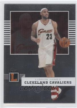 2007-08 Topps Letterman #13 - Lebron James /599