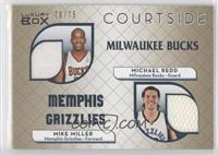 Michael Redd, Mike Miller /75