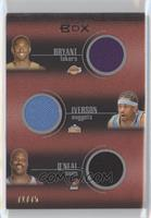 Kobe Bryant, Allen Iverson, Shaquille O'Neal, Kevin Garnett, Tim Duncan /75