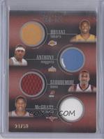 Kobe Bryant, Carmelo Anthony, Amar'e Stoudemire, Tracy McGrady, Dirk Nowitzki, …