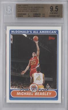 2007-08 Topps McDonald's All American - [Base] #MB - Michael Beasley [BGS9.5]