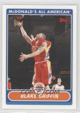 2007-08 Topps McDonald's All American #BG - Blake Griffin
