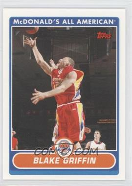 2007-08 Topps McDonald's All American #BG - Blake Griffin