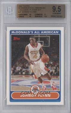 2007-08 Topps McDonald's All American #JF - Jonny Flynn [BGS9.5]