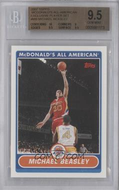 2007-08 Topps McDonald's All American #MB - Michael Beasley [BGS 9.5]