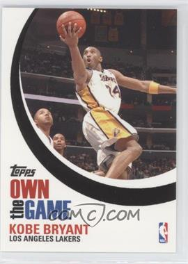 2007-08 Topps Own the Game #OTG8 - Kobe Bryant