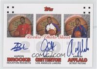 Aaron Brooks, Arron Afflalo, Javaris Crittenton