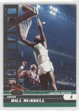 2007-08 Topps Stadium Club - [Base] - Photographer's Proof #88 - Bill Russell /199