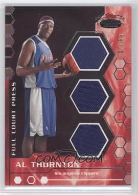 2007-08 Topps Stadium Club - Full Court Press Relics - Triple #FCPTR-AT - Al Thornton /99