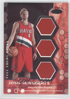 2007-08 Topps Stadium Club - Full Court Press Relics - Triple #FCPTR-JM - Josh McRoberts /99